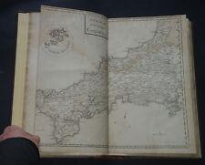 THE NATURAL HISTORY OF CORNWALL by W. Borlase: Rivers / Lakes / Mining / 1758