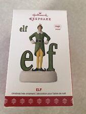 Hallmark Keepsake 2017 Buddy The Elf Sound Christmas Ornament New