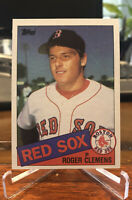 1985 Topps Roger Clemens Rookie #181 Red Sox