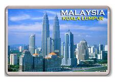 MALAYSIA KUALA LUMPUR FRIDGE MAGNET SOUVENIR NEW IMÁN NEVERA