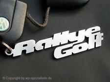Rallye Golf Keychain Keyring Pendant VW GTI G60 MK2 Badges 16VG60 Script Rally