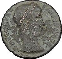 CONSTANTINE I the GREAT 335AD Ancient Roman Coin Legions Glory of army  i40452