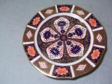 "Royal Crown Derby 7"" Plate Old Imari Pattern 1128 Shaped Rim"