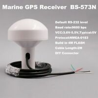 GPS Receiver Antenna With Module Waterproof Marine Boat Mushroom Shaped 5V RS232