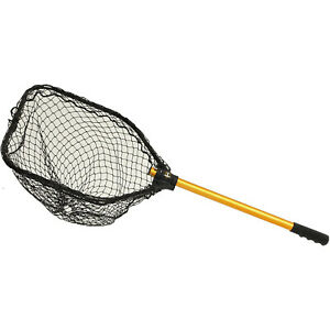 Frabill Power Stow Freshwater & Saltwater Poly Fishing Net For Pan Fish & Kayaks