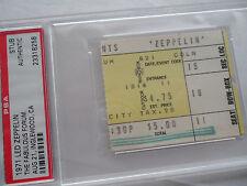 LED ZEPPELIN Original 1971 CONCERT Ticket STUB ***PSA***  Los Angeles