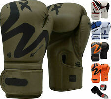RDX Boxing Gloves Quick Wraps Muay Thai MMA Sparring Punching Training Fight Bag