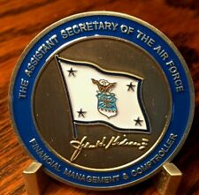 Assistant Sec of the Air Force Financial Mgmt John H. Gibson 08-09Challenge Coin