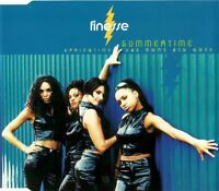 Finesse Maxi CD Summertime (Springtime Has Come And Gone) - Europe (M/M)
