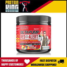 Max's Betapump Red Alert Pre Workout 60 Serves - Nitric Oxide Energy Beta Pump