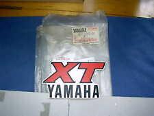 YAMAHA XT550 1982 GEN NOS FUEL TANK DECAL EMBLEM 5G4-24161-20