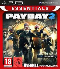 PS3 GAME PAYDAY 2 NEW Goods