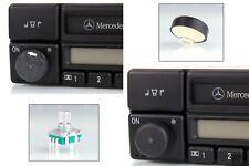 Reparaturset originale Drehknopf + Poti für Radio Mercedes-Benz classic BE1150