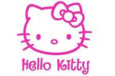 Hello Kitty Spiegel Auto Aufkleber Sticker 22cm x 22cm Fun Windschutzscheibe