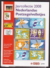 *** Jaarcollectie PTT Postzegel-VELLETEJS 2008. (sheets)