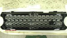 GLOSS BLACK FRONT GRILLE FOR RANGE ROVER L322 SUPERCHARGED MODEL 2006-2009