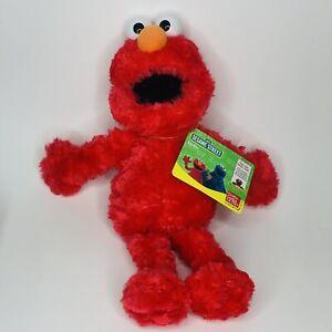 "Gund Sesame Street Elmo 13"" Plush #75351 Washable 2002 New with tags"
