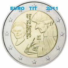 2 EURO PAYS BAS  2011  LOT DE   1  X  PIECE  NEUVE  ERASME   2011     disponible