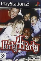 FORTY 4 PARTY per Playstation 2 - PS2 nuovo, in italiano