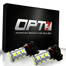 OPT7 Advanced 5202 LED Fog Light 27-SMD DRL 6000K Cool White 5050 Bulb 2504