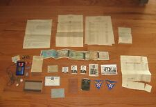 WW2 US ARMY AIR FORCE MEDALS PAPERS COMPASS FLYING SGT ROBERT SHAKE LOT FLIGHT