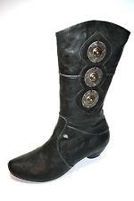 Think, Damen Schuhe Stiefel, Naturschuhe, Gr. 37,5, Shoes for women Neu