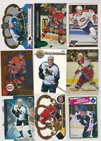 (49) card Vincent Damphousse mixed lot, Montreal Canadiens legend