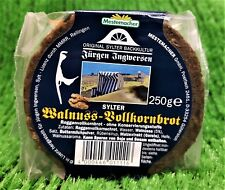 (7,96€/KG) Mestemacher Sylter Wallnuss Vollkornbrot Scheiben rund 250g