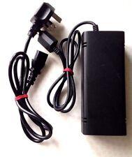 Official Microsoft Xbox 360 Slim 120w Power Brick Supply Unit PSU w/ MAINS LEAD