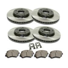 Front&Rear Premium Brake Rotor Ceramic Pad 6PCS For 2013-2015 Honda Civic