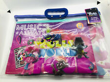 Trolls World Tour 12 Piece Drawing Painting Set With Clear Tote