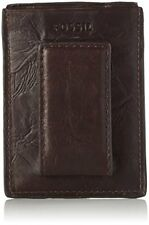 Fossil Ingram Magnetic Card Case Brown