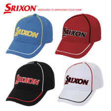 Dunlop Srixon Contrast Piping Cap Golf Hat 4Colors Cotton Gah-16046I Authentic