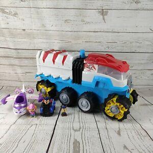 Paw Patrol  Dino Rescue Patroller Motorised Team Vehicle & figures mixed bundle