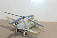 VERY NICE TOOTSIETOY 1934 AUTO-GYRO COPTER AIRPLANE BLUE Propellers  #2