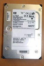 HP HDD disco duro Wide Ultra 320 SCSI st373454lc 72,8 gb 80-pin * 36