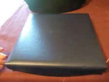 NWOT BLUE LEATHER JEWELRY RING BOX BY BUXTON