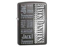 Zippo 28577 jack daniels gray dusk finish Lighter