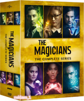 The Magicians: The Complete Series (DVD Box Set,19-Disc,Region 1, US Seller) New