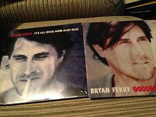 BRYAN FERRY ROXY MUSIC - 2 X SEALED PROMO CD SINGLE - GODDESS OF LOVE + IT'S ALL