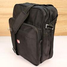 Ilovebags 24 bolso bandolera bandolera Messenger Bag negro unisex nuevo