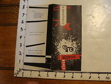 Vintage MARIONETTE Paper: BUDAPEST BIZTOS SIKER MODERN DESIGN BROCHURE ---WOW---