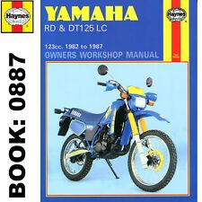 Yamaha DT125LC RD125LC 1982-87 Haynes Workshop Manual