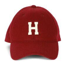 Universidad de Harvard Rojo Carmesí Lana Gorra De Béisbol Ajustable por Legacy Nuevo con etiquetas