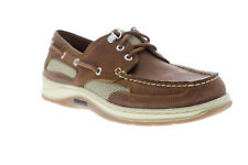 Sebago Clovehitch II FGL Waxed 7000GE0 Mens Brown Leather Casual Boat Shoes