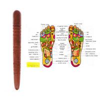 Holzstab Holzwerkzeuge Akupunktmassage Spa Fuß Hand Reflexzonenmassage Kör sp/_lk