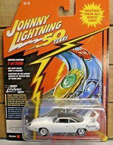 JOHNNY LIGHTNING 70 PLYMOUTH SUPERBIRD 1:64 DIE CAST CAR 1/3500 ALPINE WHITE