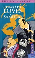 Comrade Loves of the Samurai by Ihara Saikaku excellent used condition paperback