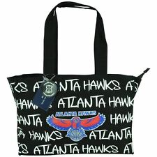 NBA Robin Ruth Atlanta Hawks Medium Tote Hand Bag Glitter Women Ladies Purse Blk
