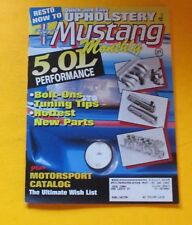 MUSTANG MONTHLY  MAGAZINE JUNE/1992...5.0L PERFORMANCE...RESTO HOW-TO